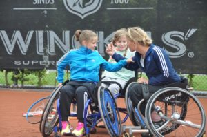 Rolstoeltennis Esther Vergeer Foundation